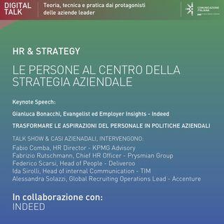 Digital Talk | Le Persone al centro della strategia aziendale | Indeed