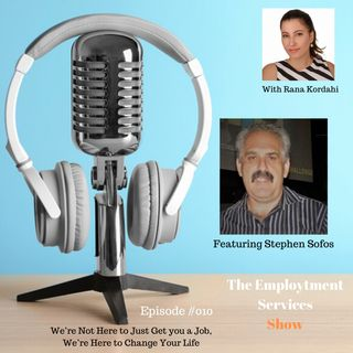 We're Not Here to Just Get you a Job, We're Here to Change Your Life – With Stephen Sofos #010