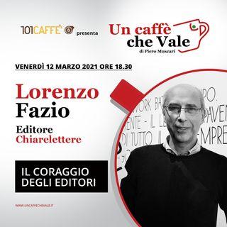 Lorenzo Fazio: Il coraggio degli editori