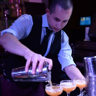 Gaston Martinez & Mixologist Brian Summers