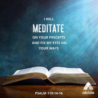 Christian Meditation 101