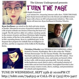 Turn the Page with Kayla Greenwell: Focus on Ryan Snellman & Christina Wheeler