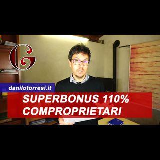 SUPERBONUS 110%: ripartizione tra comproprietari appartamento - ecobonus sismabonus - FAQ MEF