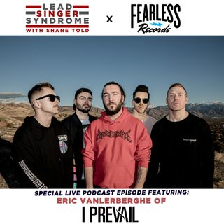 Eric Vanlerberghe (I Prevail) LIVE FROM LOS ANGELES!