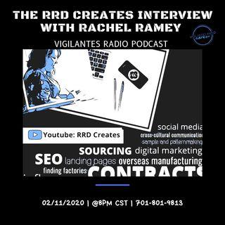The RRD Creates Interview With Rachel Ramey.
