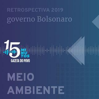 O que Bolsonaro fez no meio ambiente em 2019