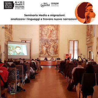 TTFF14:Seminario Media e migrazioni. Tra linguaggio e nuove narrazioni.