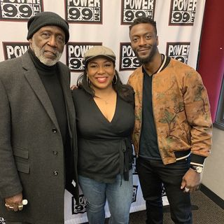 "Aldis Hodge & Richard Roundtree Talk W/ Cappuchino About Their New Movie ""What Men Want"""