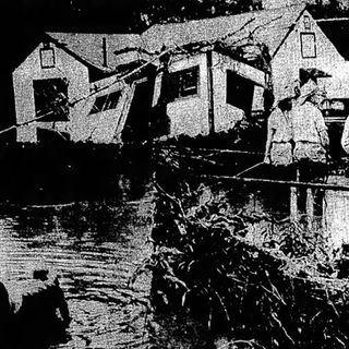 And the Rain Fell, And the Water Rose….: The Great Audubon Flood of 1958