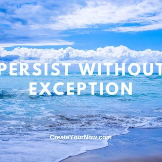 2431 Persist Without Exception