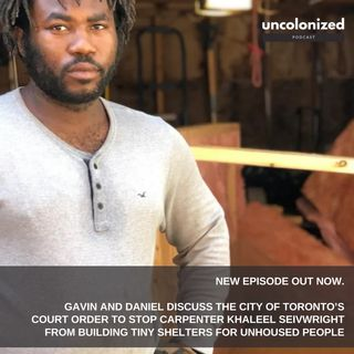 S06E08: Khaleel Seivewright, and his fight to help the unhoused