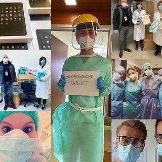 """L'#OperazioneTablet ideata dalla Onlus """"I Folletti"""", con sede a Parma"""