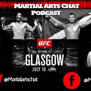 UFC Glasgow Roundtable