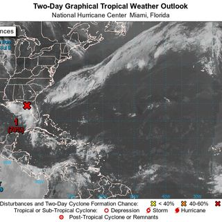 Stephen Shiveley NWS Tampa on Low Pressure Area