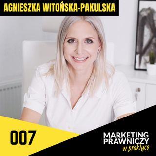MPP#007 Co daje specjalizacja w kancelarii? – Agnieszka Witońska-Pakulska