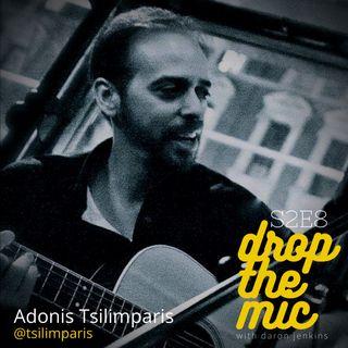Drop The Mic S2 Ep8: Adonis Tsilimparis, Film/TV Music Composer
