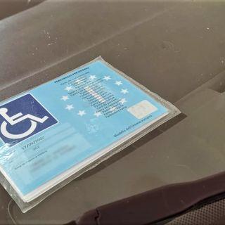 Furbetti nei posti per disabili: altra multa in centro a Vicenza