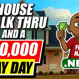 Wholesaling Real Estate Tips: $10,000 Pay Day and a House Walk Thru