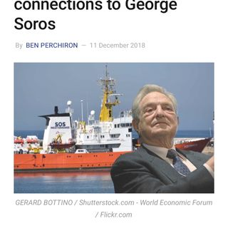 The immigrant-ferrying Aquarius and its nefarious connections to George Soros