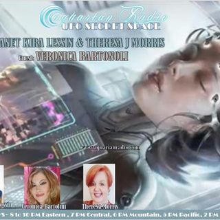 Veronica Bartolini ~ 09/11/20 ~ UFO Secret Space ~ Host Janet Kira Lessin & Ther
