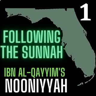 "Class #1: ""Following The Sunnah"" pt1- Moosaa Richardson"