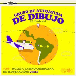 Ep. 28 - Ruleta latinoamericana de ilustración: Chile