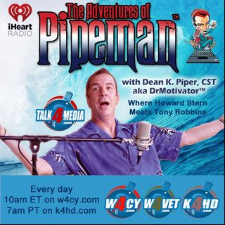 The Pipeman Radio Tour Begins