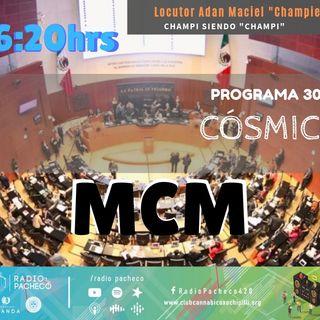 COSMICO con Champie Maciel Prog 30