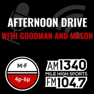 Friday Oct 30: Hour 1 - Glasgow positive, Broncos cancel practice, Jeff Miller of LA Times, Justin Simmons, AJ Hinch hired by Tigers