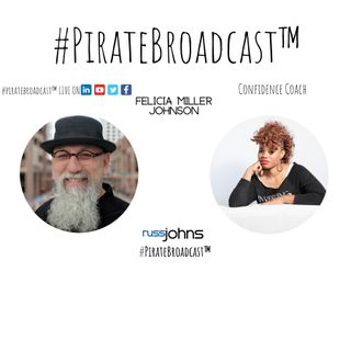 Catch Felicia Miller Johnson on the #PirateBroadcast™