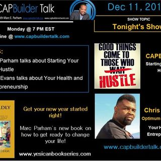 CAPBld Talk - Starting a side hustle and your health and entrepreneurship