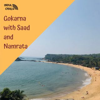 Gokarna with Saad and Namrata