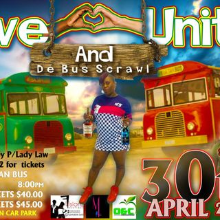love and unity bus scrawl 30th april ..