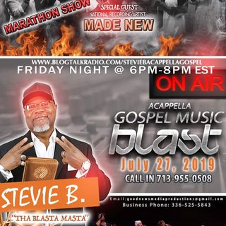 Stevie B's Acappella Gospel Music Blast - Episode 15