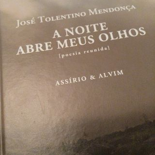 """""""Final"""" em """"A noite abre meus olhos"""" - José Tolentino Mendonça"""