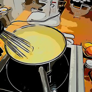 La dolce meta di Buò #1 - Crostata alla crema (della nonna)