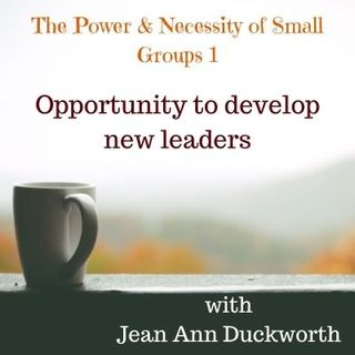 The Power & Necessity of Small Groups 1