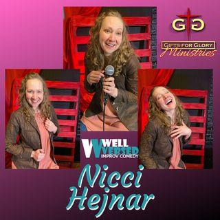 Nicci Hejnar Comedian and Mommy to Evan