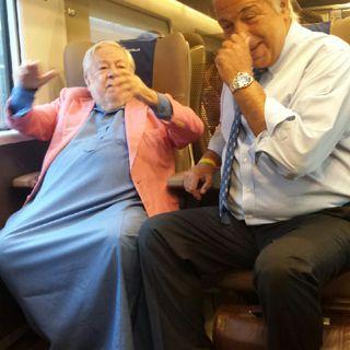 In treno con Fantozzi