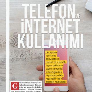 Telefon ve İnternet Kullanımı - Nisan 2018