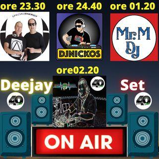 "Radio 40 ""LA NOTTE DEGLI DEI"" Mercoledì Notte 17/02/2021"
