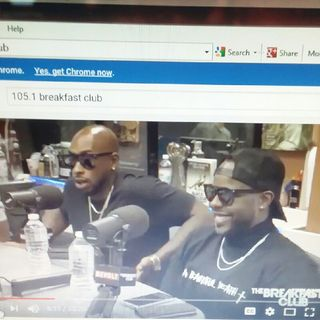 Ceaser/ Ted Of Black Ink Crew N.Y. On The Breakfast Club !