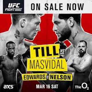 MMA Fight Picks #UFCLondon: Darren Till vs Jorge Masvidal with David McGrath ( @IrishMMA84)