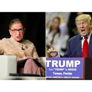 """SHOULD PRESIDENT TRUMP BE ALLOWED TO REPLACE JUSTICE GINSBURG  BEFORE NOV. 3?"""