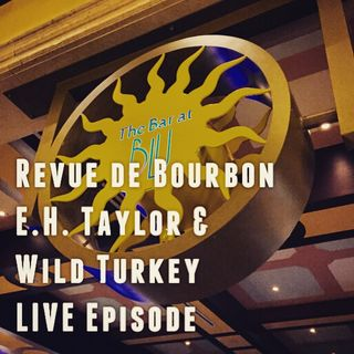 RDB: E.H. Taylor & Wild Turkey Review - LIVE from the Urban Bourbon Trail