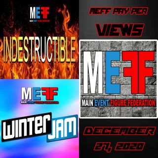 MEFF - Winter Jam & Indestructible 2020 - December 27, 2020
