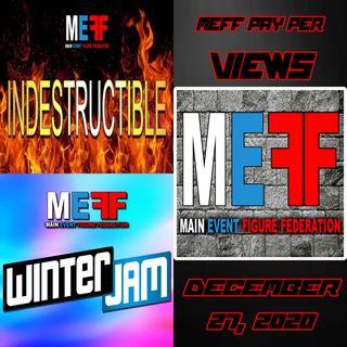 MEFF - Winter Jam & Indestructible 2020 - December 27, 2020