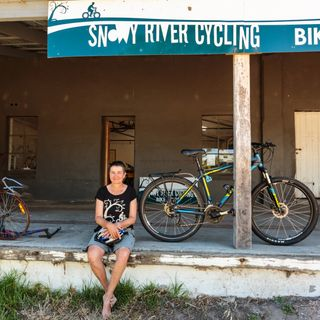 From saving animals to bike punctures. Who is Liz Mitchell?