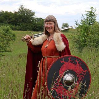 Sådan bor vikingeforfatteren Susanne Clod Pedersen