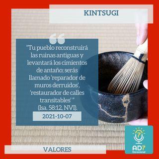 7 de octubre - Kintsugi - Devocional de Jóvenes - Etiquetas Para Reflexionar